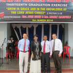 Beacon Baptist Seminary Graduation in India